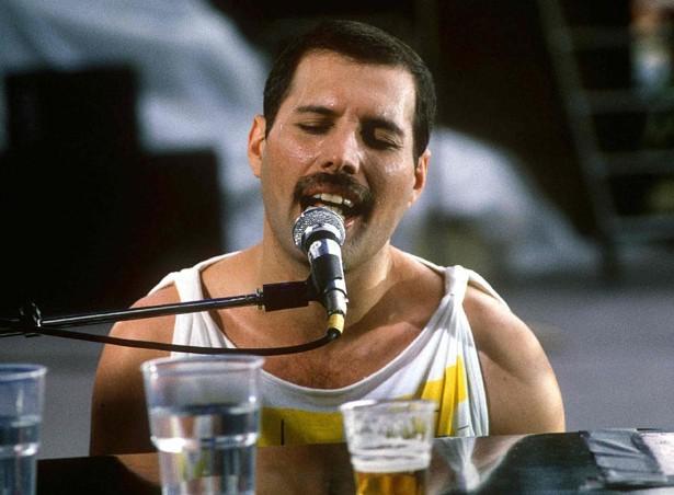 Freddie Mercury. Foto di a a