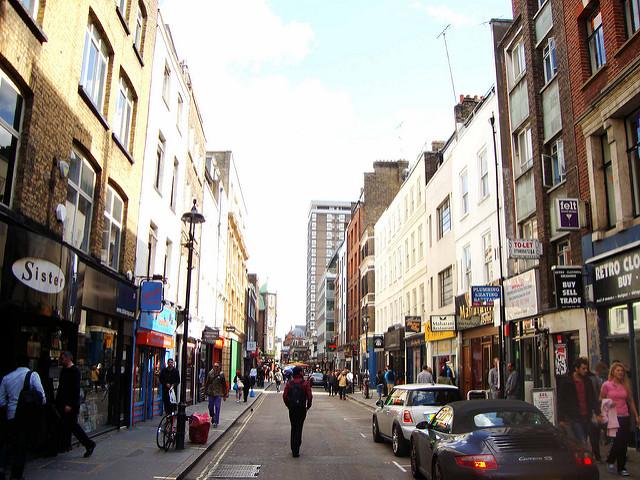 Berwick Street. Foto da Fickr