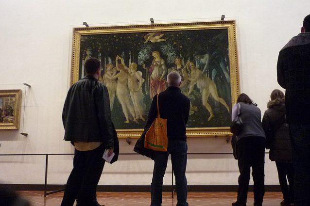 La Primavera di Sandro Botticelli agli Uffizi di Firenze – Credits: concha.roda