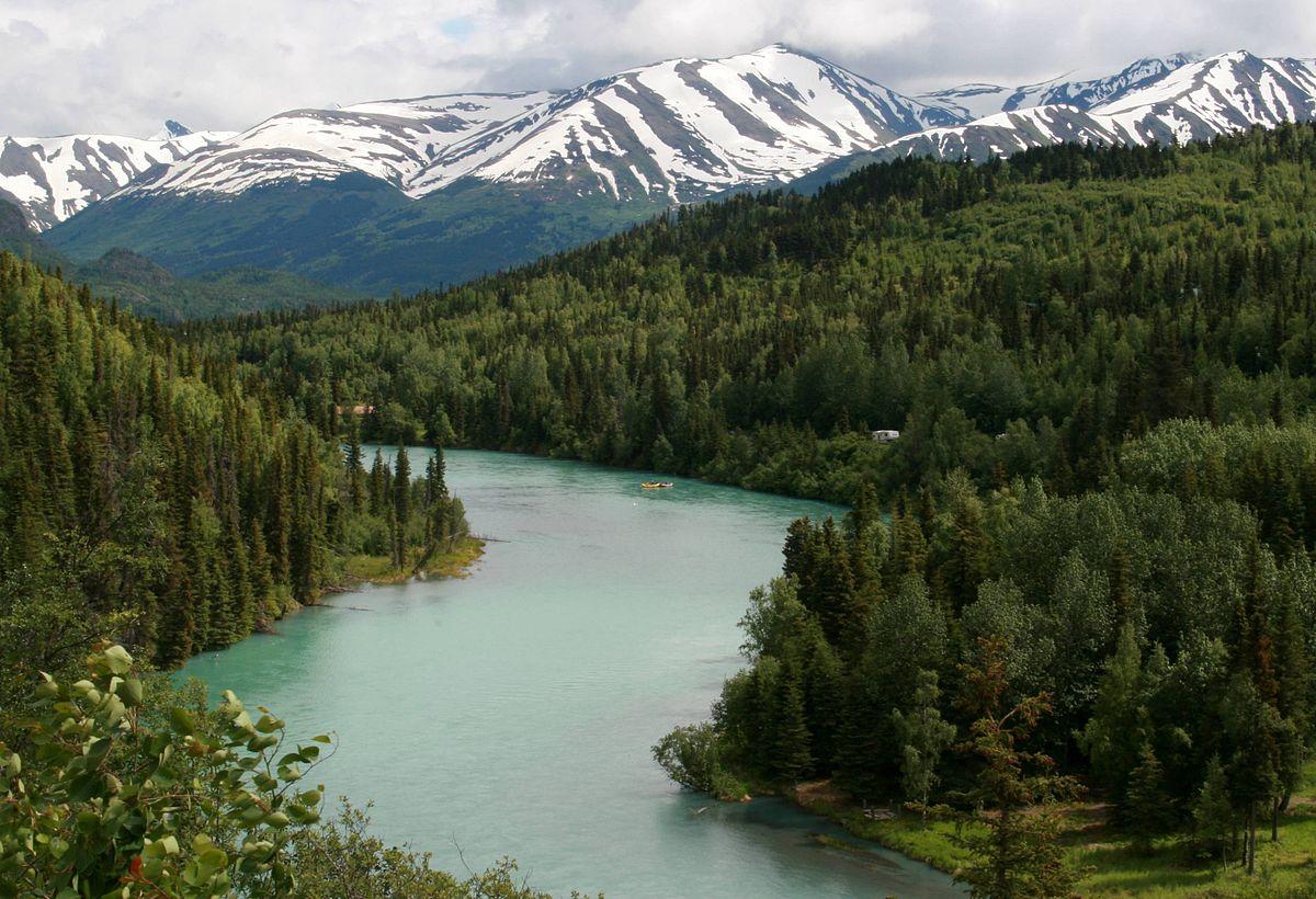 I fiumi pi belli del mondo for Cabine del fiume kenai soldotna ak