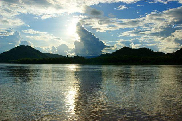 Veduta del fiume Mekong – Foto Wikimedia Commons