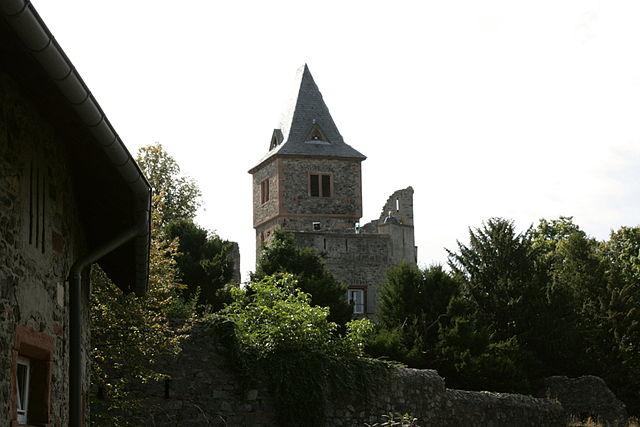 Uno scorcio del Castello di Frankenstein – Foto Wikimedia Commons