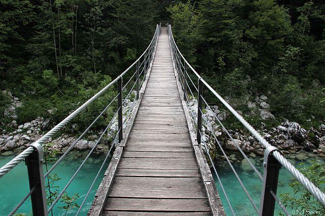 Valle del Soča, Slovenia – Foto Wikimedia Commons