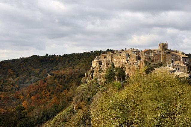 Borgo di Calcata. Foto di Simonetta Viterbi