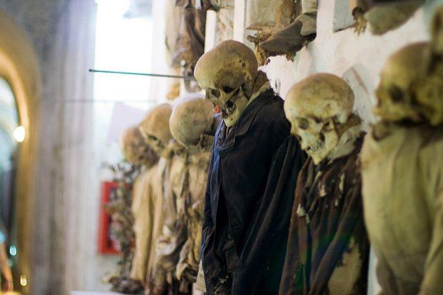 Mummie, Catacombe dei Cappuccini di Palermo – Foto di Giovy