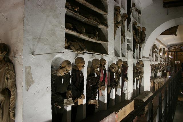 Catacombe dei Cappuccini, Palermo – Foto di Juan Antonio F. Segal