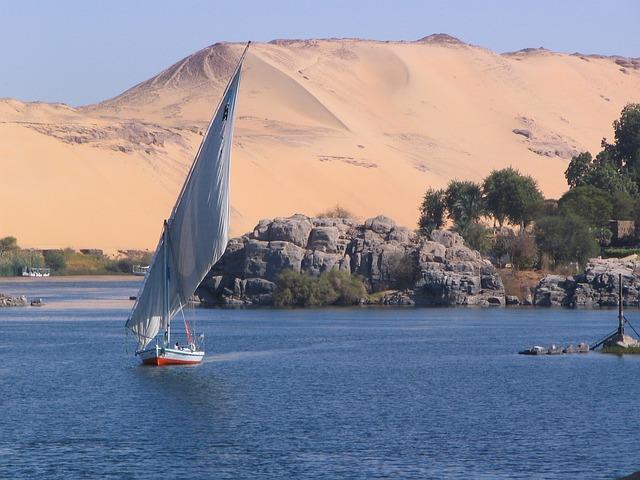 Nilo ad Aswan – Foto Pixabay
