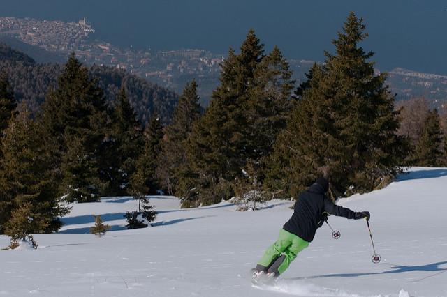 Sciare sul Monte Baldo . Foto da Flickr