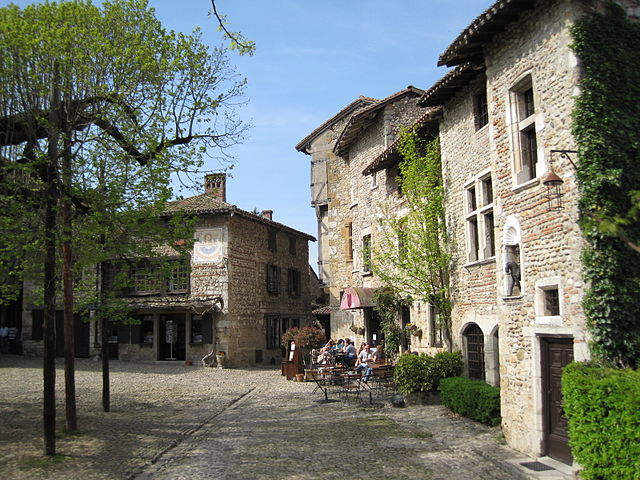 Pérouges – Foto Wikimedia Commons