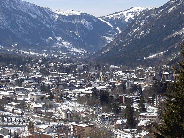 Veduta di Chamonix – Foto Wikimedia Commons