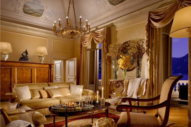 Presidential Suite, Splendide Royal Hotel, Lugano