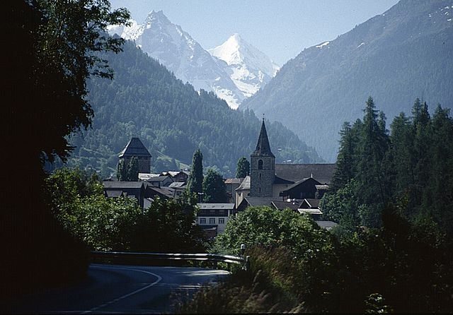 Vissoie – Foto Wikimedia Commons