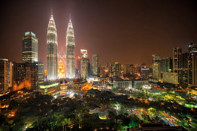 Veduta di Kuala Lumpur – Foto di Luke Zeme