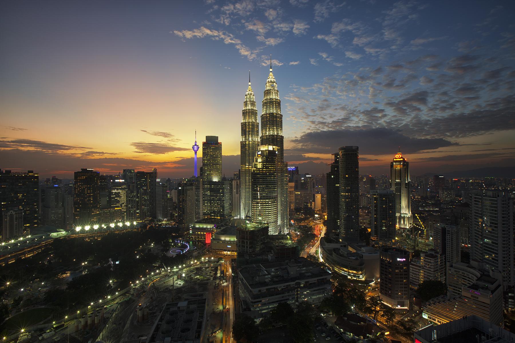 Skyline di Kuala Lumpur – Foto Pexels