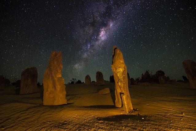 Via Lattea sul Deserto dei Pinnacoli – Foto di Inefekt69