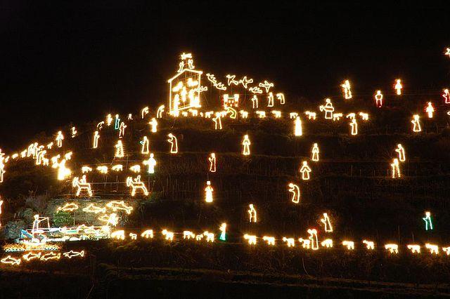 Presepe di Manarola – Foto Wikipedia