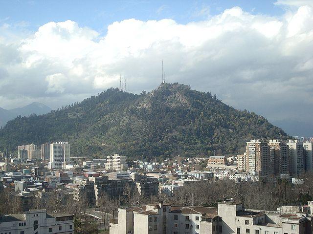 Cerro San Cristóbal – Foto Wikimedia Commons