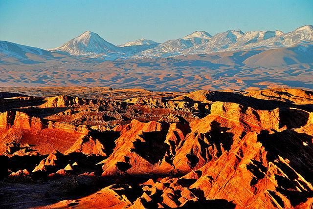 Valle de la Luna, San Pedro de Atacama – Foto Wikimedia Commons