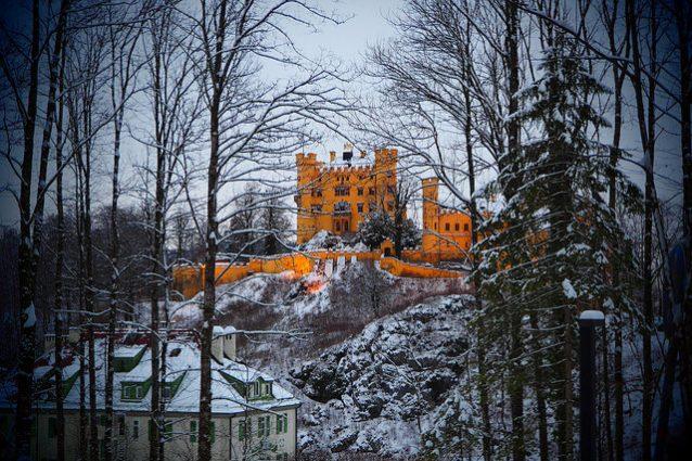 Hohenschwangau Castle. Foto da Flickr