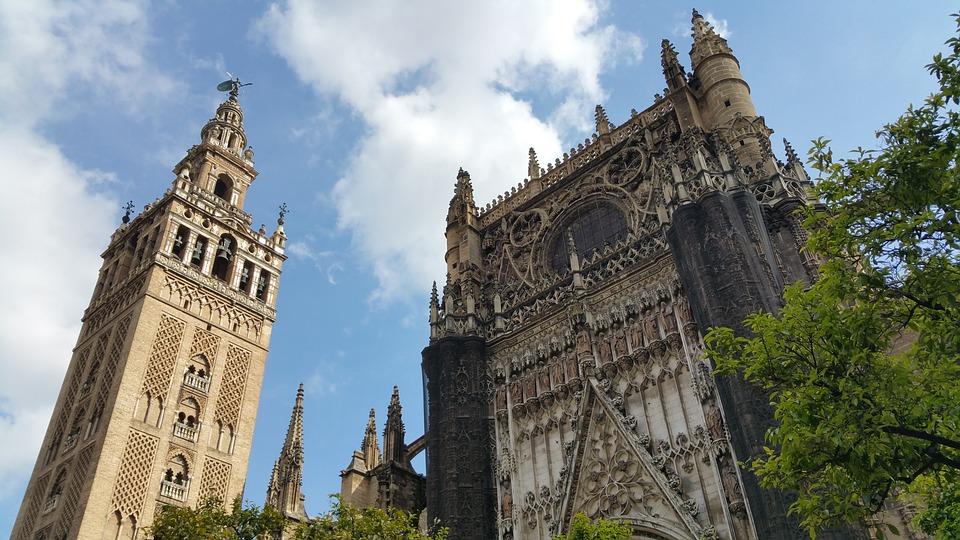 Cattedrale di Siviglia. Foto da Pixabay