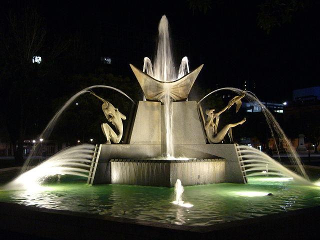 Fontana di Victoria Square – Foto Wikimedia Commons
