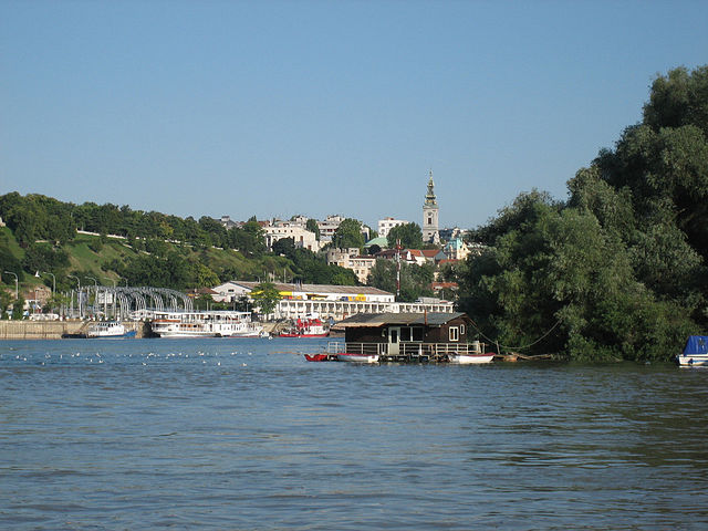 Danubio a Belgrado – Foto Wikimedia Commons