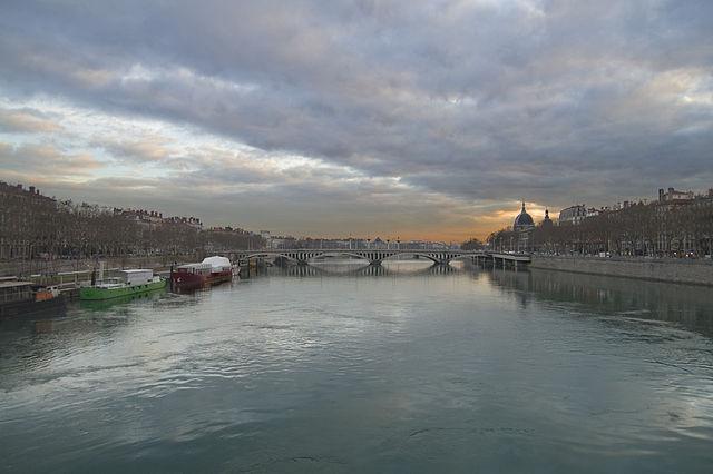 Rodano, Veduta di Lione – Foto Wikimedia Commons