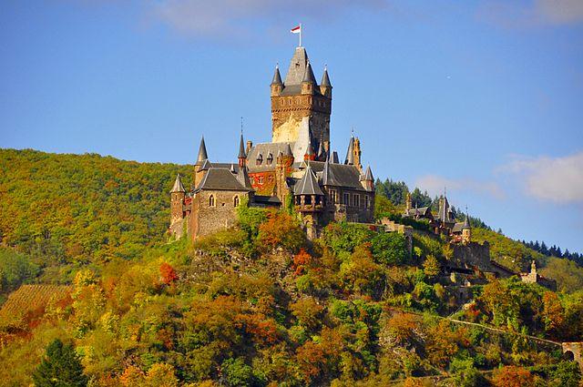 Cochem, Reichsburg – Foto Wikimedia Commons