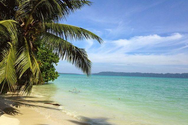Spiaggia di Vijaynagar sull'isola di Havelock – Foto Wikimedia Commons
