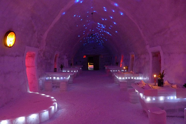 Ice Hotel. Foto da Flickr