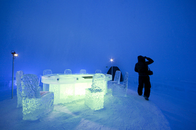 Lainio Snow Village. Foto di Visit Finland