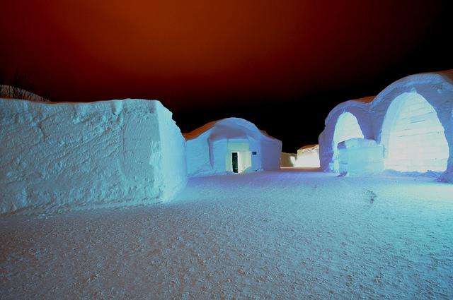 Ice Hotel. Foto di Grid Arendal