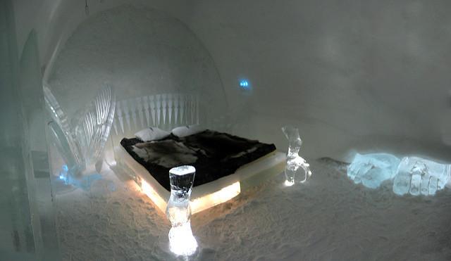 Ice Hotel. Foto di MontanIto