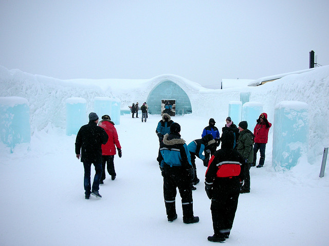 Igloo Hotel. Foto da Flickr