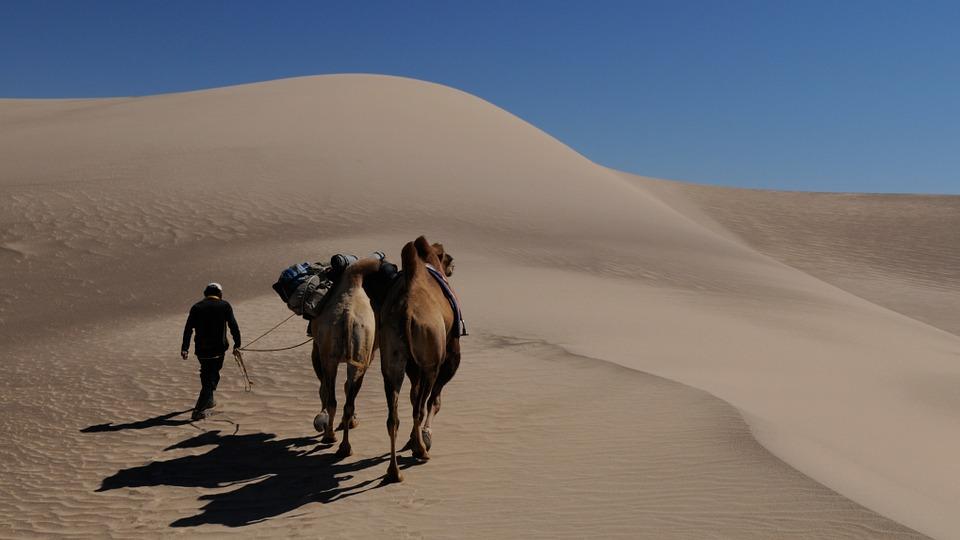 Deserto del Gobi. Foto da Pixabay