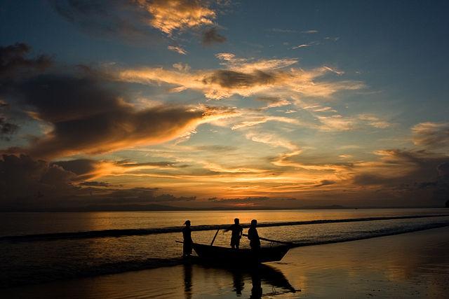 Tramonto alle isole Andamane – Foto Wikimedia Commons