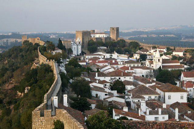 Veduta di Obidos – Foto Wikimedia Commons
