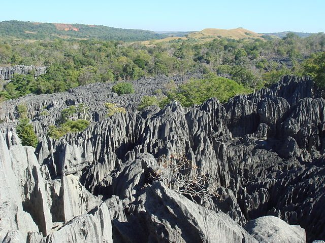 Tsingy de Bemaraha – Foto Wikimedia Commons