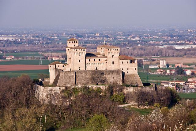 Castello di Torrechiara. Foto di Fabio Marcor