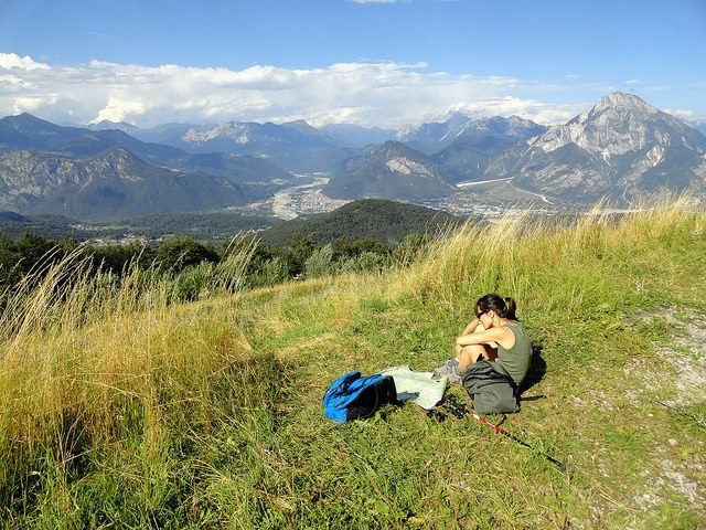 Tolmezzo e Monte Amariana. Foto da Flickr