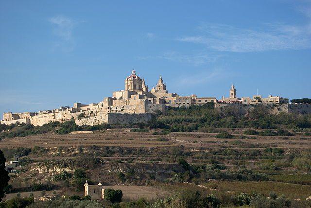 Mdina, Malta – Foto Wikimedia Commons