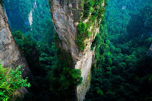 Zhangjiajie National Park – Foto Wikimedia Commons