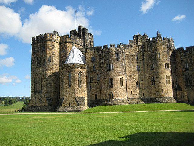 Castello di Alnwick – Foto di Fiona James