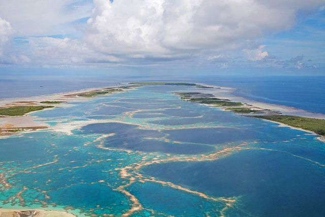 Caroline Island (o Millennium Atoll) – Foto di The TerraMar Project