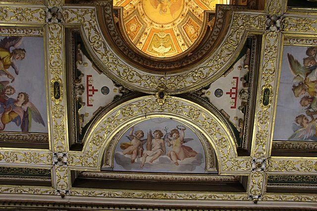 Casa Buonarroti – Camera degli Angioli – Foto Wikimedia Commons