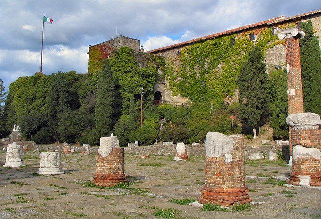 Castello di San Giusto. Foto di Paolo Tosolini