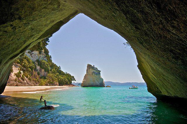 Cathedral Cove, Nuova Zelanda – Foto di macronix