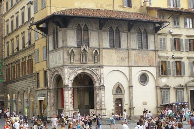 Firenze, Loggia del Bigallo – Foto Wikimedia Commons