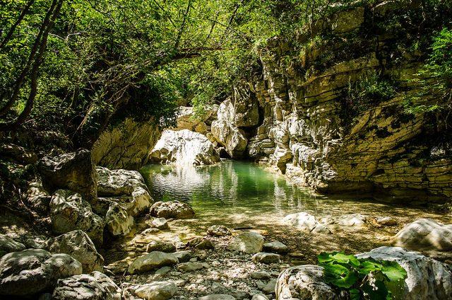 Gole del Salinello. Parco Nazionale del Gran Sasso e Monti della Laga. Foto di Cristiano Sabbatini
