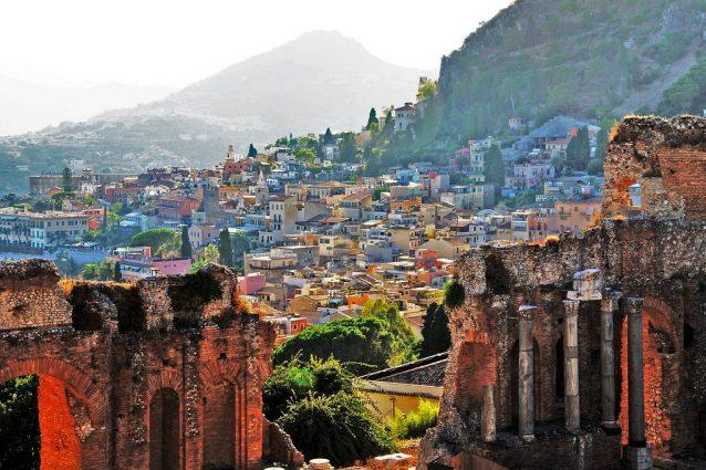 Taormina, Sicilia. Foto di Luca Volpi